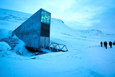 Saatgutdepot auf Spitzbergen