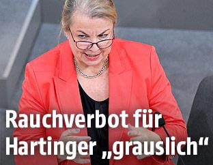 Sozial- und Gesundheitsministerin Beate Hartinger-Klein (FPÖ)