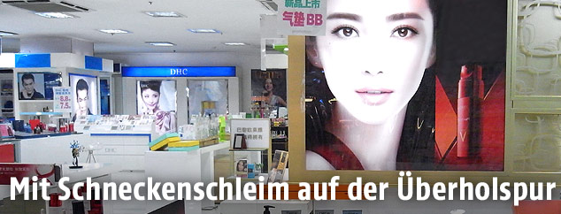 Kosmetikabteilung