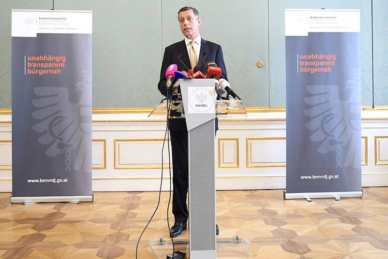 Der Generalsekretär des Justizministeriums Christian Pilnacek