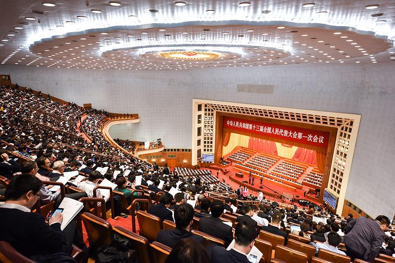 Nationaler Volkskongress in China