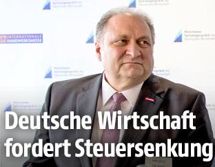 Der deutsche Handwerkspräsident Hans Peter Wollseifer