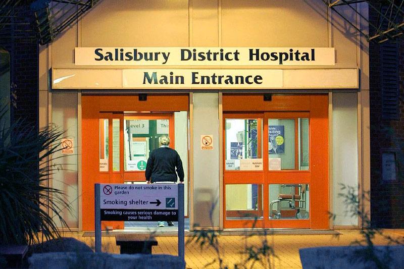 Archivbild von Krankenhaus in Salisbury