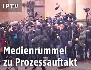 Journalisten bei Prozess in Dänemark