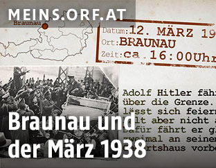 Grafik zu Braunau im März 1938