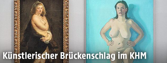 Ausstellungsansicht Rubens/Lassnig