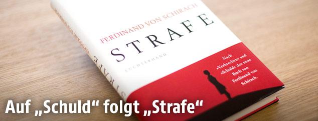 """Cover des Buchs """"Strafe"""" von Ferdinand von Schirach"""