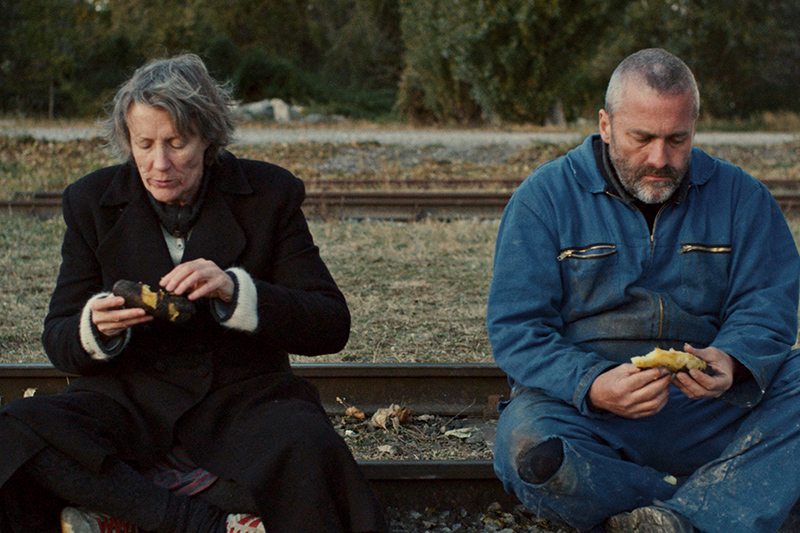 "Ludwig Wüst und Claudia Martini in ""Aufbruch""."