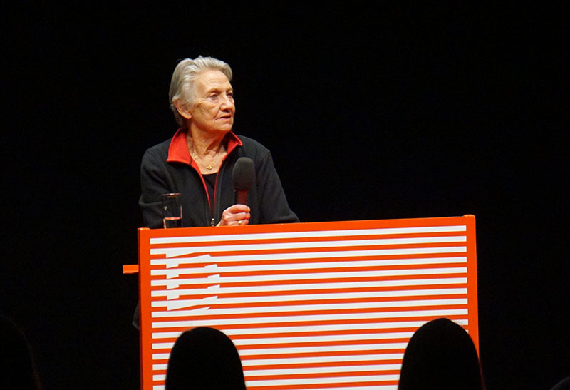 """Ingrid Burkhard (""""Ein echter Wiener geht nicht unter"""") wurde bei der 21. Diagonale in Graz mit dem Schauspielpreis ausgezeichnet."""