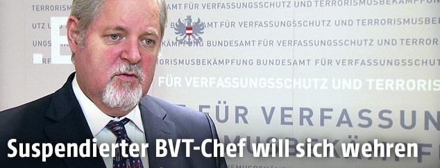 Ex-BVT-Chef Peter Gridling