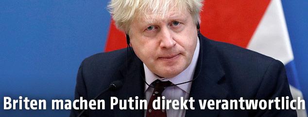 Der britische Außenminister Boris Johnson