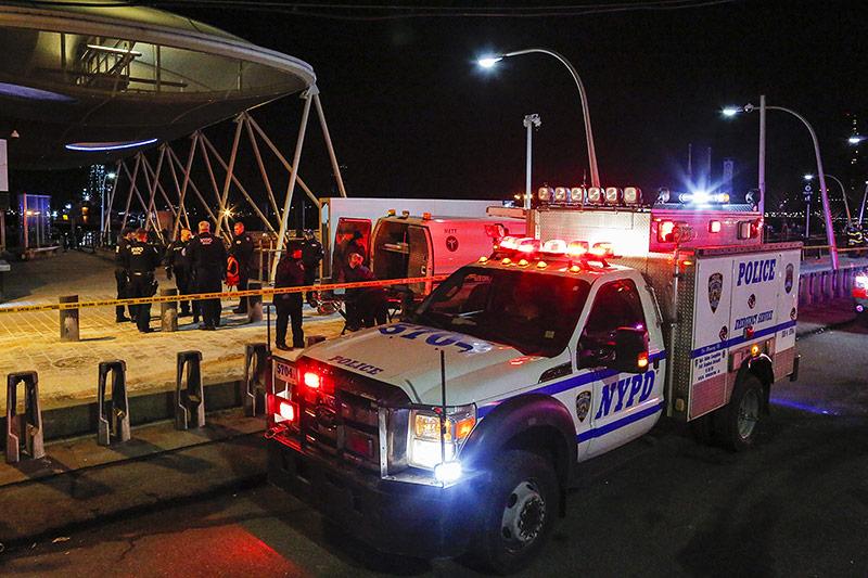Einsatzkräfte in New York
