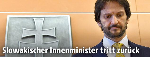 Der slowakische Innenminister Robert Kalinak