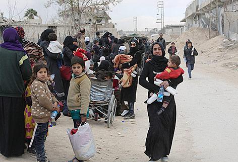 Türkische Streitkräfte belagern Afrin-Stadt