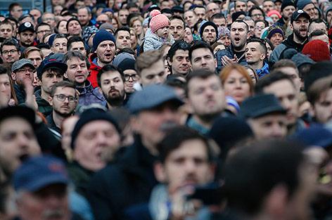 Demonstrationsteilnehmer