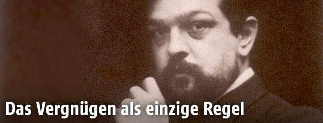 Pianist und Komponist Claude Debussy