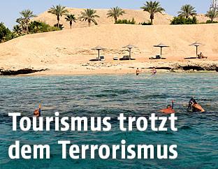 Touristen in Sharm el-Sheikh