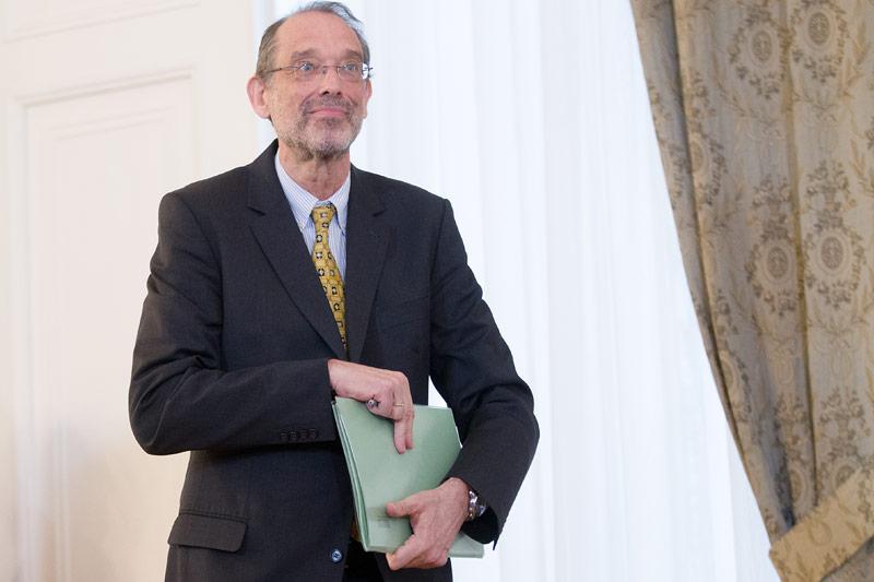 Bildungsminister Heinz Faßmann