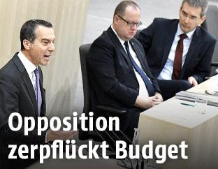 Bundesparteiobmann Christian Kern (SPÖ)
