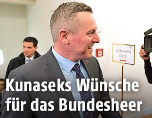 Verteidigungsminister Mario Kunasek (FPÖ)