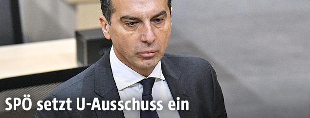 SPÖ-Chef Christian Kern