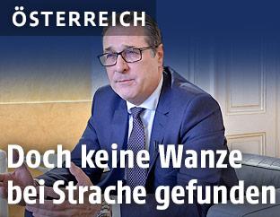 Vizekanzler Heinz-Christian Strache