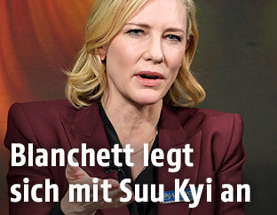 Hollywood-Schauspielerin Cate Blanchett