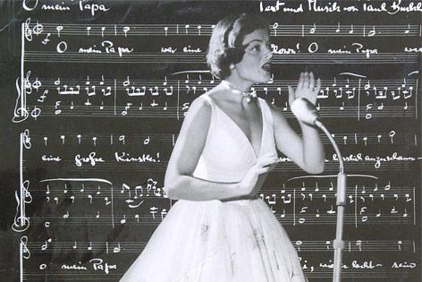 Sängerin Lys Assia 1956