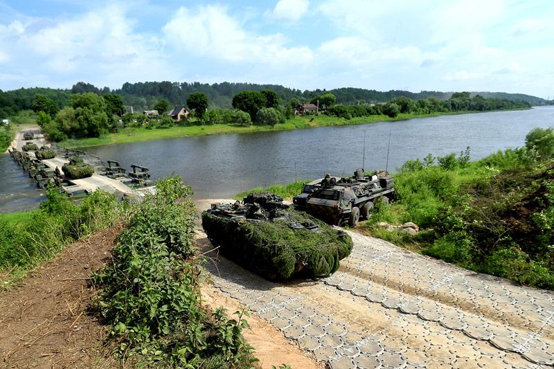 Deutsche Panzer in Lettland