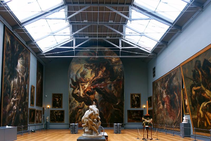 Blick ins Wiertz-Museum