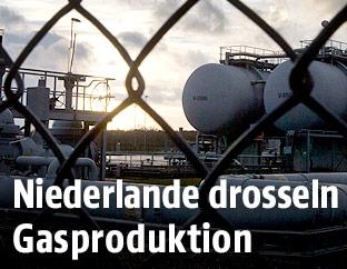 Erdgasförderung in Slochteren, Groningen
