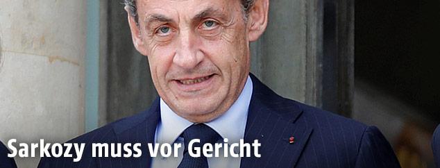 Der ehemalige französische Präsident Nicolas Sarkozy