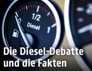Diesel-Tankanzeige