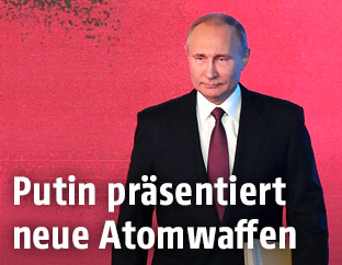 Präsident Vladimir Putin