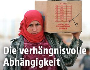 Frau in Syrien