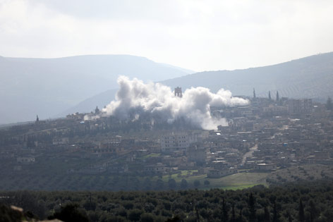 Luftangriff auf Afrin, Syrien