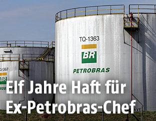 Petrobras-Öltank