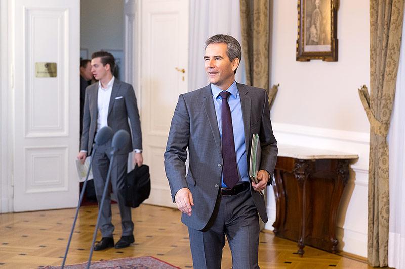 Finanzminister Löger (ÖVP)