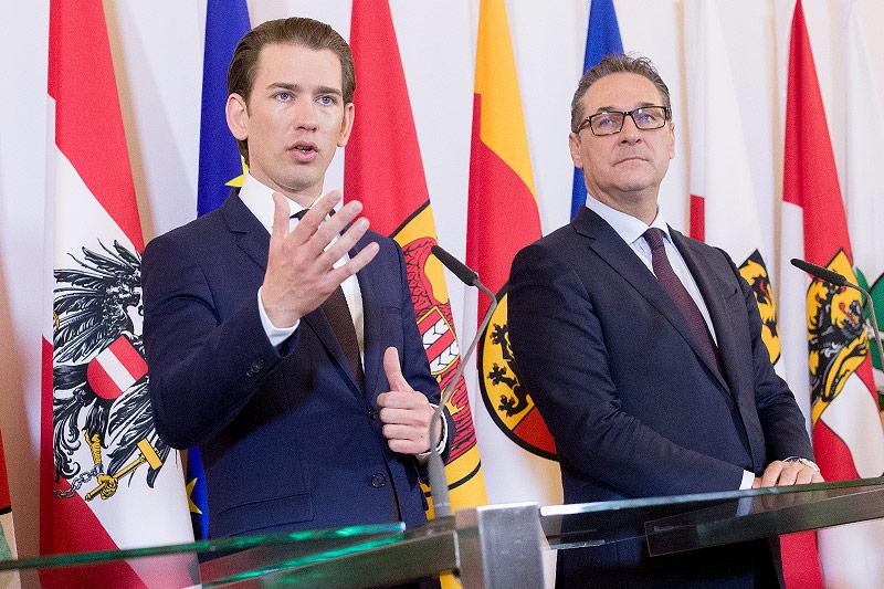 Bundeskanzler Sebastian Kurz (ÖVP) und Vizekanzler Heinz-Christian Strache (FPÖ)