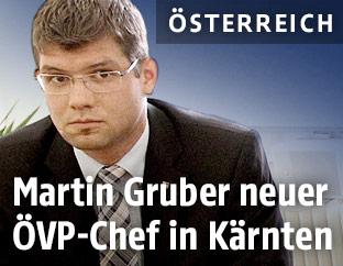 Parteichef Martin Gruber