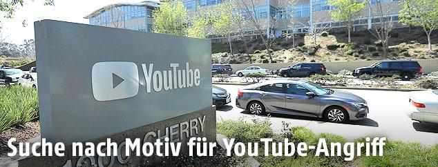 YouTube-Hauptquartier in San Bruno (Kalifornien)