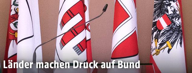 Flaggen der österreichischen Bundesländer