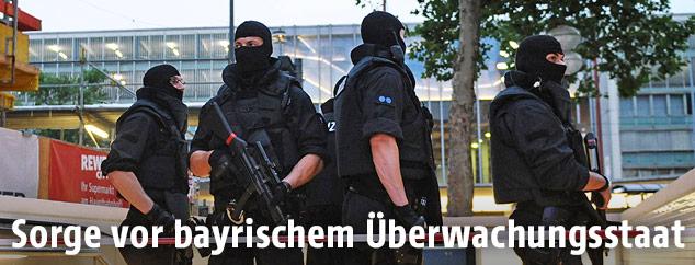 Polizisten in München