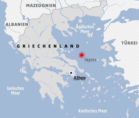 Griechischer Kampfjet in Ägäis abgestürzt