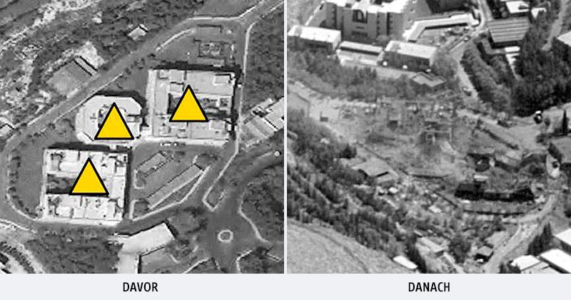 Satellitenaufnahmen vom Forschungszentrum in Barsa