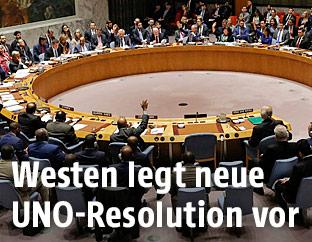 UNO-Versammlung zu Syrien