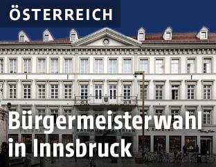 Das neue Rathaus in Innsbruck
