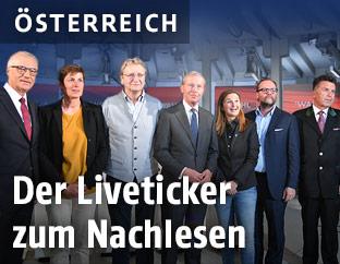 Die Kandidaten der Salzburg-Wahl