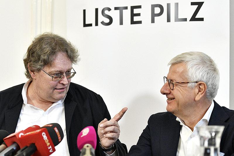 Klubobmann Peter Kolba und Abgeordneter Bruno Rossmann