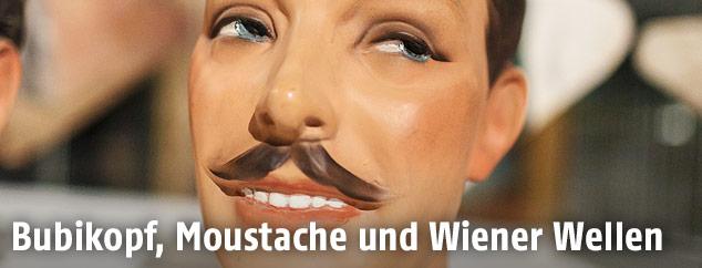 """Ausstellungsansicht von """"Mit Haut und Haar"""" im Wien Museum"""